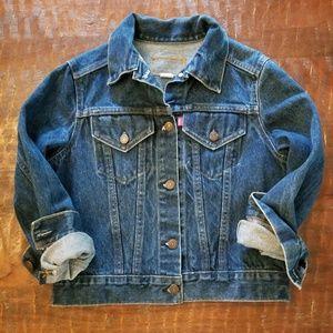 Vintage Levi's medium wash denim jacket